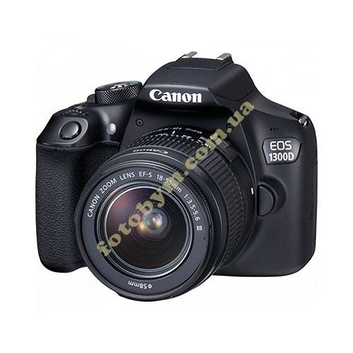 Фотоаппарат Canon EOS 1300D Kit 18-55mm DC III KIT