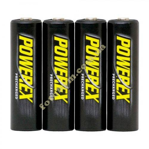 Аккумуляторы Maha Powerex Precharged 2600mAh (4xAA)