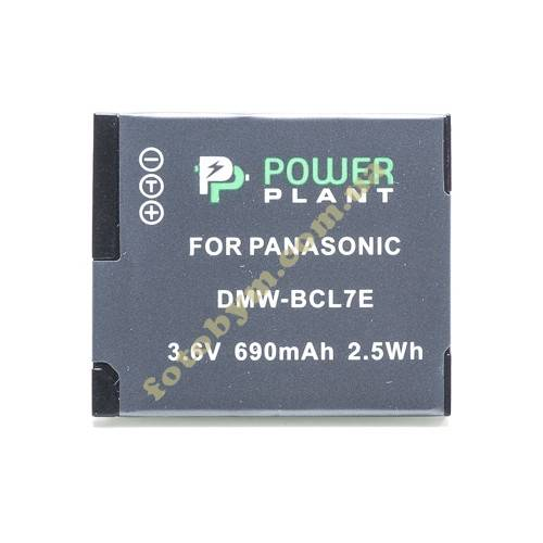 Аккумулятор Panasonic DMW-BCL7E (аналог) Power Plant