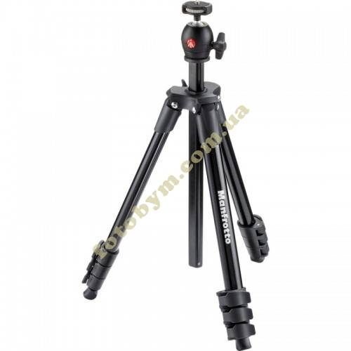 Штатив Manfrotto Compact Light Black (MKCOMPACTLT-BK)