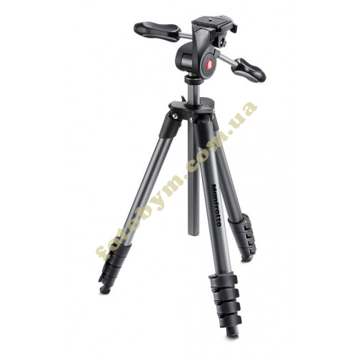 Штатив Manfrotto Compact Advanced Black (MKCOMPACTADV-BK)