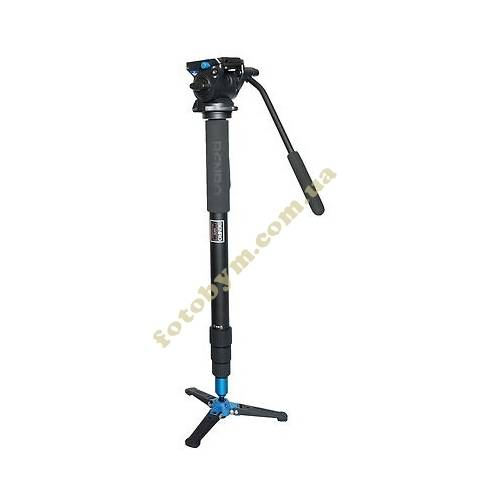 Монопод Benro A48TBS4 Aluminium Monopod with Video Fluid Head