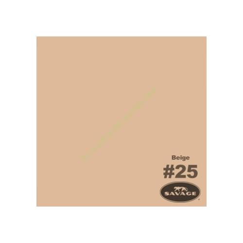 Студийный фон Savage Widetone Beige 1.36m x 11m
