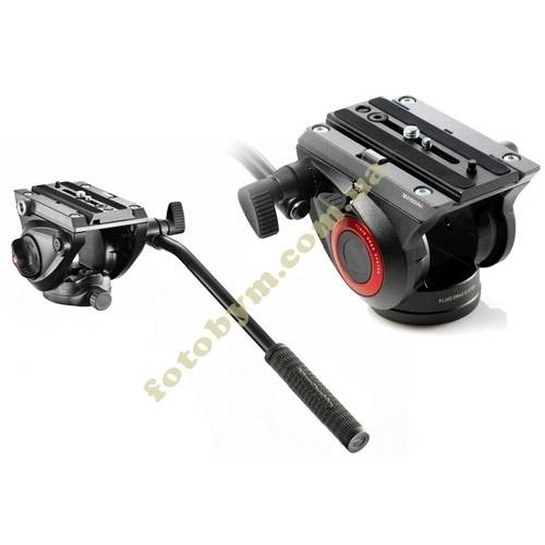 Видео головка Manfrotto MVH500AH  FLUID VIDEO HEAD FLAT BASE