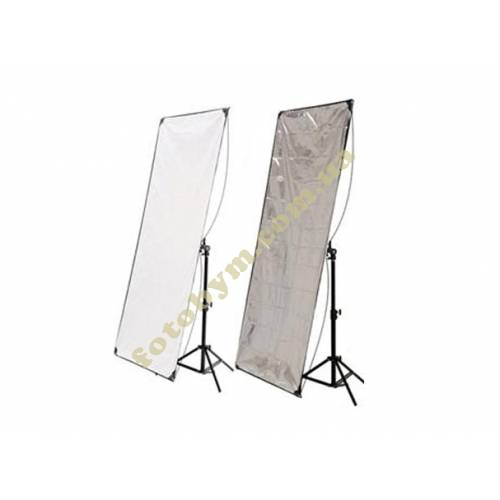 Панель для отражателя HYUNDAE PHOTONICS White/Metal Silver  80x120см