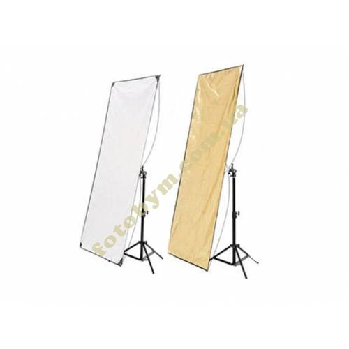 Панель HYUNDAE PHOTONICS White/Soft Gold 80x120см