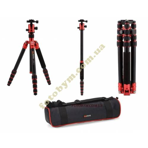 Штатив MeFOTO GlobeTrotter Red 2в1