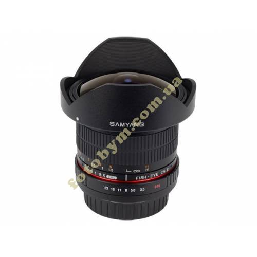 Объектив Samyang 8mm f/3.5 AS IF UMC Fish-eye CS II Canon EF 1