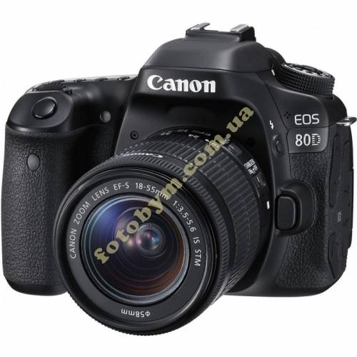 Фотоаппарат Canon EOS 80D + объектив 18-55 IS STM c Wi-Fi