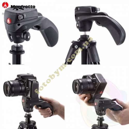 Штатив Manfrotto Compact Action Black (MKCOMPACTACN-BK)